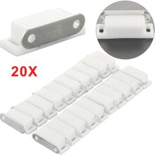 20Pcs Magnetic Catch Latch For Kitchen Cabinet Cupboard Wardrobe Door