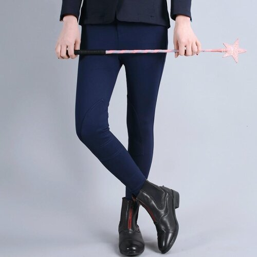 Flexible Horse Riding Pants Equestrian Breeches Clothes For Children Comfortable Wear-resisting