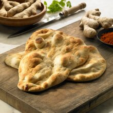 Baked Earth Frozen Large Naan Breads - 24x130g