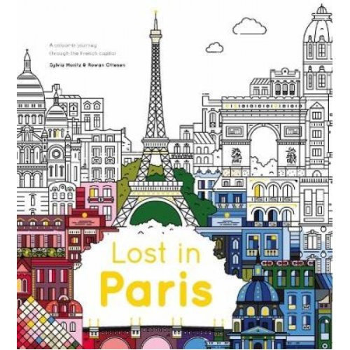 Lost in Paris  A colourin journey through the French capital by The City Works