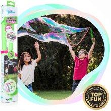 WOWMAZING Giant Bubble Powder Kit - Bubble Wand & Big Bubble Powder