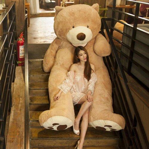 America Giant Teddy Bear Plush Toy