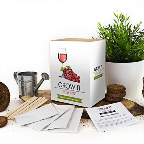 Gift Republic Grow Your Own Rosé Wine Grow It Kit