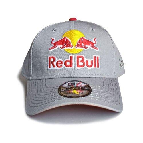 Red Bull Cap Grey White Snapback Baseball Hat For Women Men