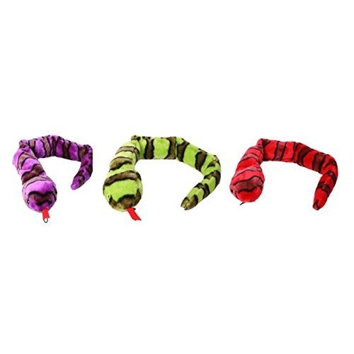Petface Plush Puncture Proof Snake Dog Toy, 70 cm