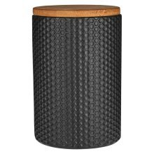 Geome Hex Canister - Black