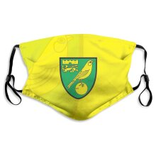 Norwich City Football Team Face Masks for Adult Youth Reusable