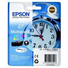 Epson C13T27054012 (27) Ink cartridge multi pack, 3x350pg3x3,6ml, Pack qty 3