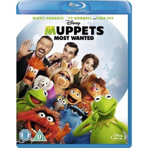Muppets - Most Wanted Blu-Ray [2014]