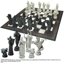Harry Potter Wizards Chess Set Philosophers Stone The Noble Collection