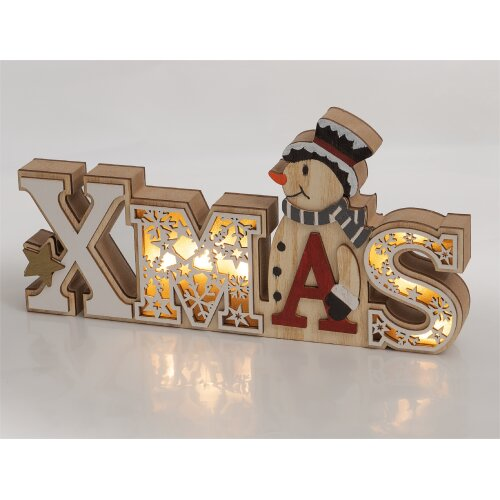 Wooden Battery Powered XMAS Display