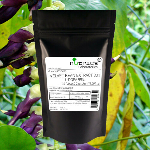 Nutrics® 19,500mg MUCUNA PRURIENS EXTRACT V Capsules