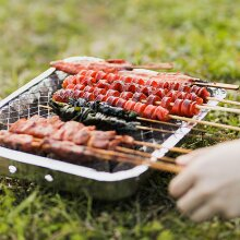 Disposable Outdoor Charcoal Instant Barbecue Grill