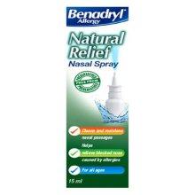 Benadryl Natural Relief Nasal Spray 15ml