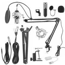 Audio Condenser Microphone Set   Desktop Sound Recording Kit