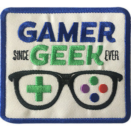 Patch - Video Games - Gamer Geek Icon-On p-dsx-4686