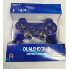Sony PS3 Dualshock 3 Wireless Controller Gamepad (Blue)