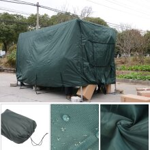 4 Ply Premium Caravan Cover Green 4 zips, Water Proof and Breathable