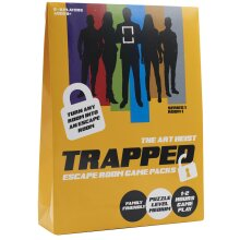 Trapped Scape Room Game Art Heist Scape Room at Home Board Game