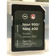 Opel Vauxhaul Chevrolet NAVI 900 600 sd card map update 2020