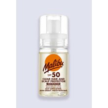 Malibu Clear Hair and Scalp Protector SPF 50 50ml