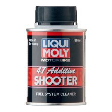 Liqui-Moly motorcycle 4T additive Fuel system cleaner 80ml shooter