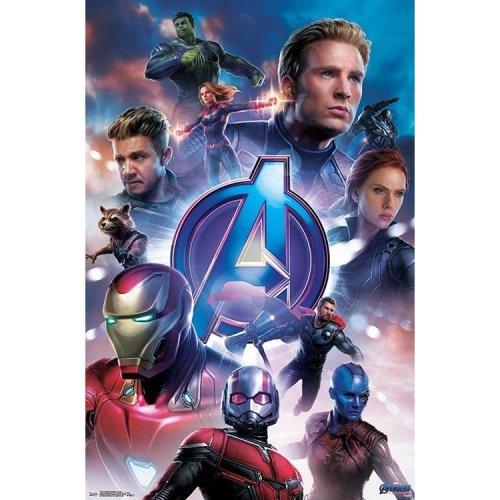 """Poster - Studio B - Avengers Endgame - Group 36x24"""" Wall Art P7255"""