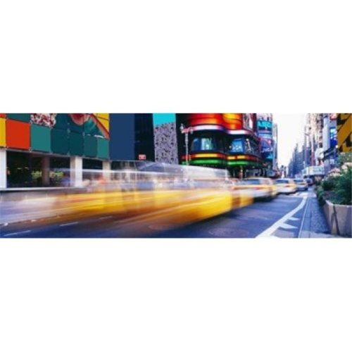 Times Square  NYC  New York City  New York State  USA Poster Print by  - 36 x 12