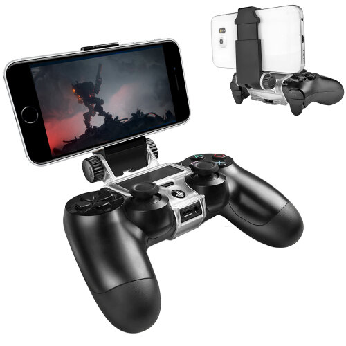 PS4 Smart Clip - PS4 Controller Mobile Phone Holder Clamp Mount PS4 Remote Play