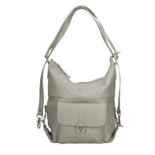 33x33x12 cm - Hobo / Backpack Leather bag - Made in Italy