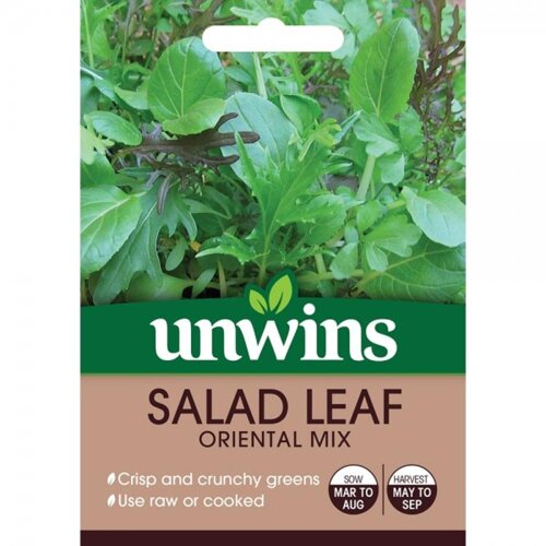 Unwins Grow Your Own At Home Tasty Vegetable - Spinach Trumpet F1