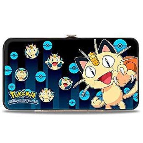 Hinge Wallet - Pokemon - V.5 Toys New Licensed hw-pkbl