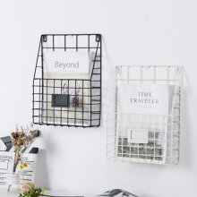 Magazine Rack Letter Newspaper Basket Wall Shelf Storage
