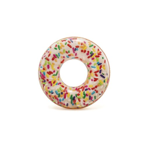 Intex Inflatable Giant Donut Sprinkle Swim Ring 45""