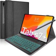 Keyboard Case Samsung Galaxy Tab S7 Tab S7 Plus 12.4 Inch 2020 New