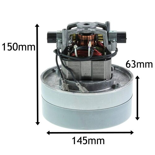 Complete Motor Unit for NUMATIC Henry Hetty Vacuum Cleaner (TCO DL2 1104T 205403 240V)