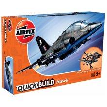 Airfix J6003 Quick Build BAe Hawk Aircraft Model Kit (Black)