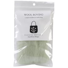 """Wistyria Editions Wool Roving 12"""" .22oz-Mint"""