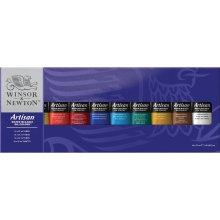 Winsor & Newton Artisan Water Mixable Oil Colour Tube, 37 ml (Set of 10)