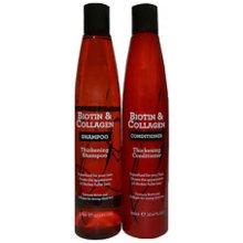 Biotin & Collagen Thickening Hair Shampoo & Conditioner For Thick Hair
