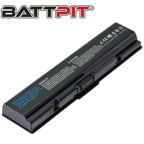 BattPit Battery for Toshiba PA3534U-1BRS PA3533U-1BRS PA3535-1BAS Satellite A200 A300 A500 L200 L300 L450 L500 L550 [6-Cell/48Wh]