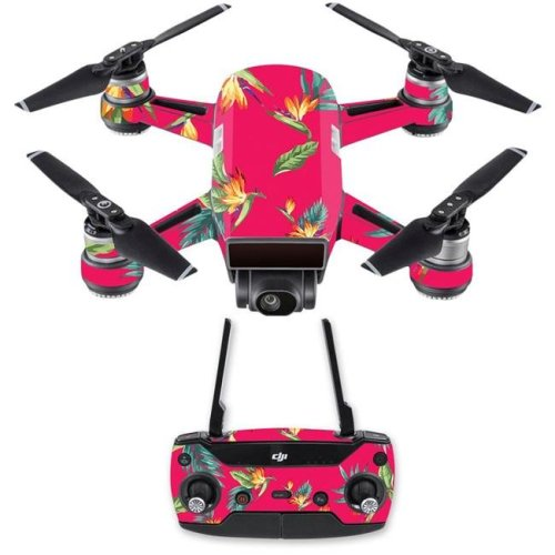 MightySkins DJSPCMB-Paradise Skin Decal for DJI Spark Mini Drone Combo Sticker - Paradise