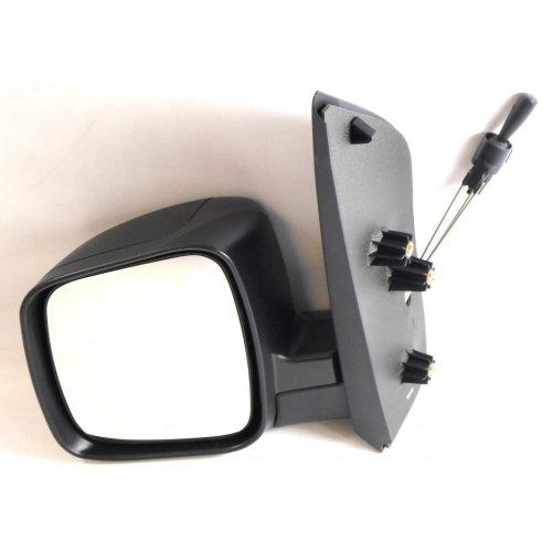 Fiat Qubo Van 2008-2015 Cable Adjust Wing Door Mirror Black Cover Passenger Side