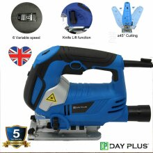 800W Pendulum Jigsaw Variable Speed with LED Light Laser Guide Cutting