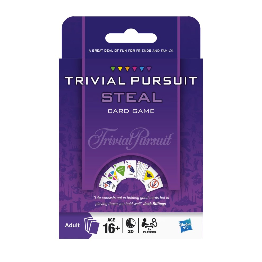 Hasbro Trivial Pursuit Steal Game