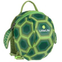backpack with belt Turtle 2 litres polyester light green