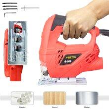 710W Electric Jigsaw Jig Saw +Wood Metal Plastic Cutting Blade Corded