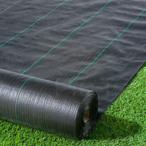 Black Polypropylene Weed Membrane, W2*L25M Roll