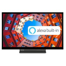 "Toshiba 24WK3A63DB 24"" Smart 720p HD Ready LED TV with Alexa Built-in - Refurbished"