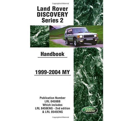 Land Rover Discovery Series 2 Handbook 1999-2004 MY